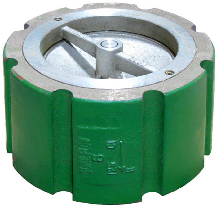Dual Plate Wafer Spring Loaded Disc Check Valve